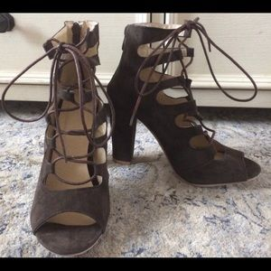Heels Gladiator Block Heel Elegant Shoes NEW